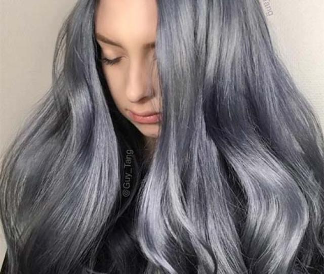 Blue Denim Hair Colors Stonewashed Jean Magic