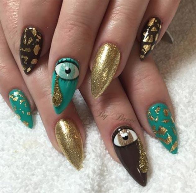 50 Awe Inspiring Nail Art Designs