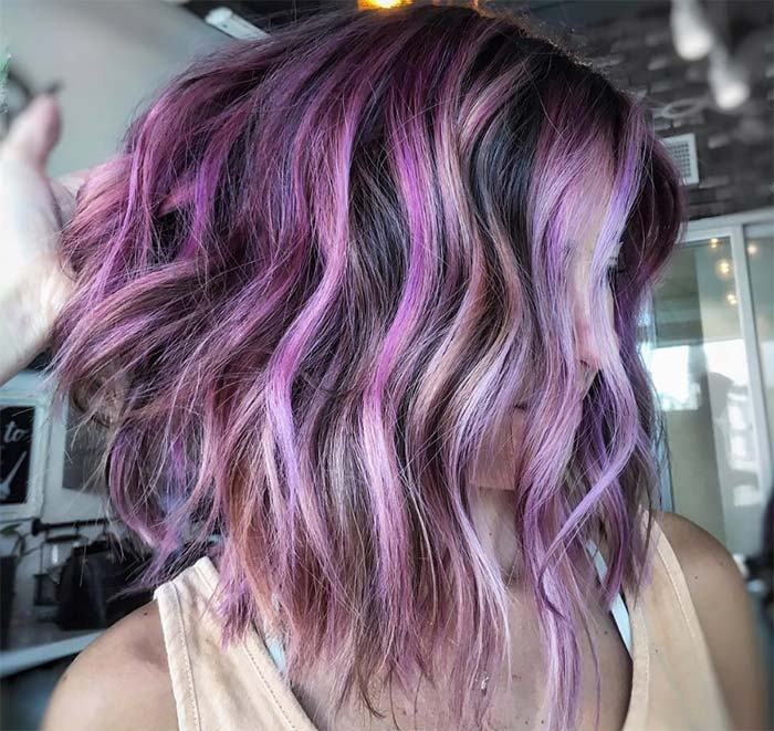 Fashion & Makeup Tips for Lavender Hair Colors