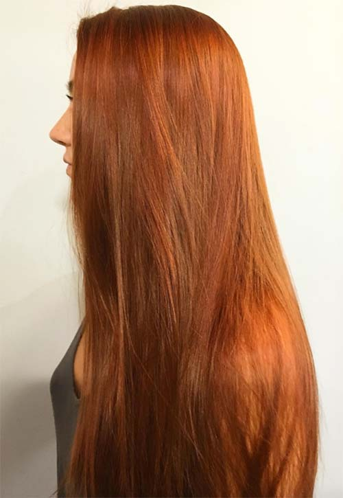 Copper Hair Color Ideas