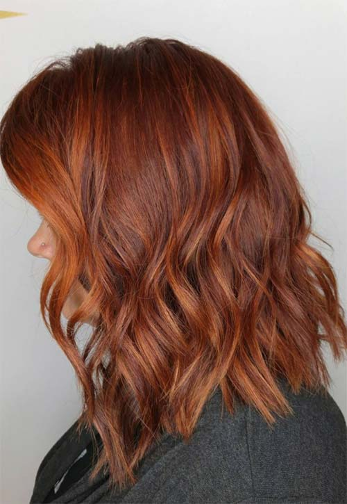 How to Maintain Copper Hair Color