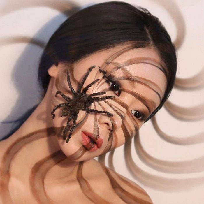 The Illusion Artist Dain Yoon Creates Mind-Blowing Looks Spider