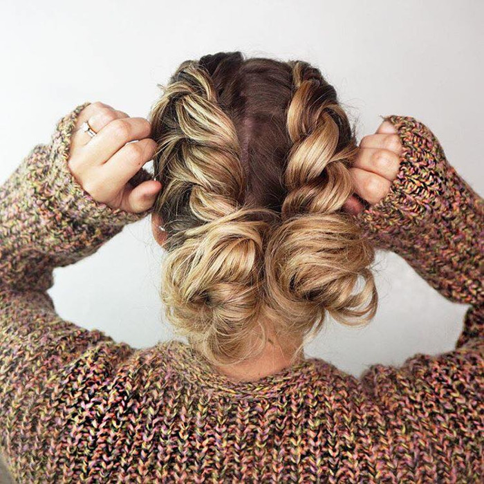 Ten Braided Hairstyles Youll Love double braids