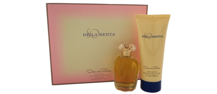 10 Hottest Steals of The Week Bodylotions So de La Renta Fragrance & Lotion Set