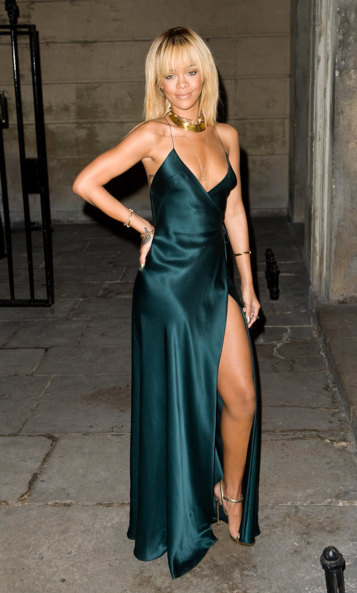 The-Sexiest-Celebrity-Slip-Dresses-of-All-Time-Rihanna