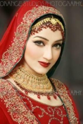 Bridal Makeup For Red Dress