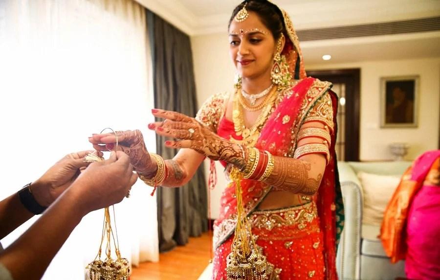 Ahana Deol Wedding As Bride