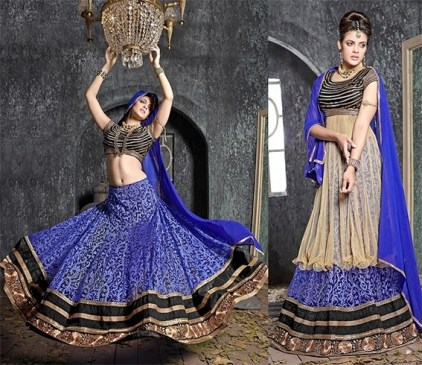 reuseyour wedding lehenga as anarkali suit