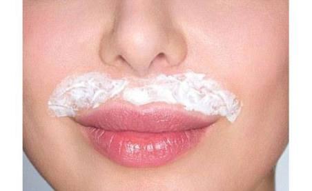 Резултат слика за remove upper lip hair naturally