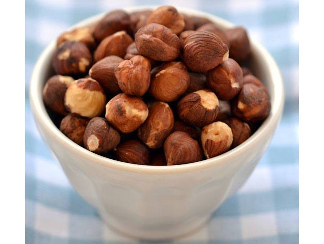 Hazelnuts gives us Proteins