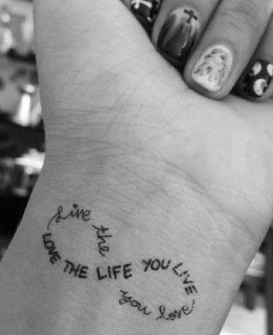 20 Infinity Tattoos That You Can Never Say No To Crazyforus