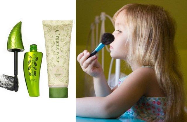 Child safe makeup