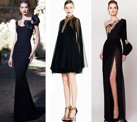 Accessorise a Black Dress