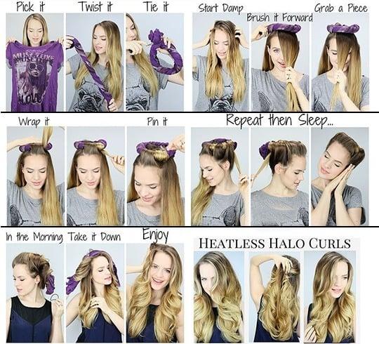 Wie man Haare schnell lockert