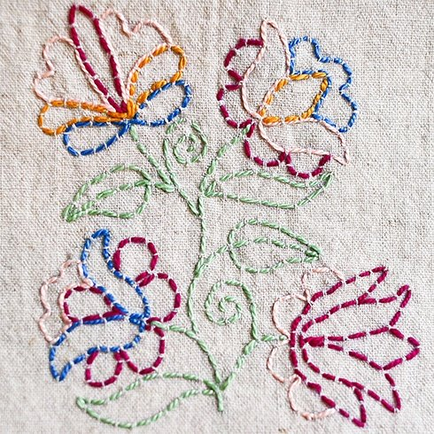 15 Hand Embroidery Stitches for Beginners - Learn Step By ...