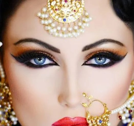 Your Step By Step Tutorial To Arabic Bridal Makeup