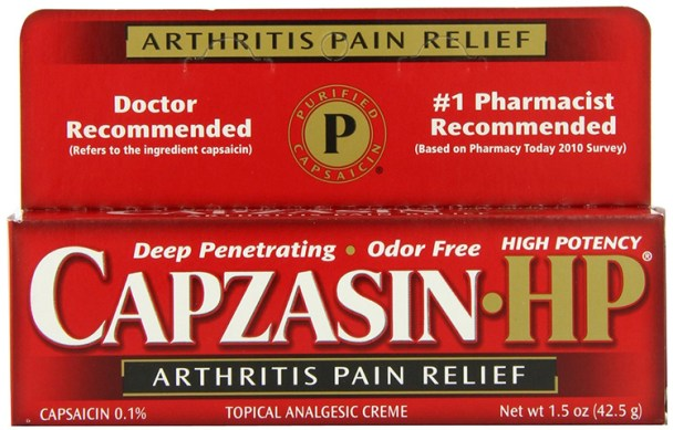 Capsaicin for Relief of Joint Pain