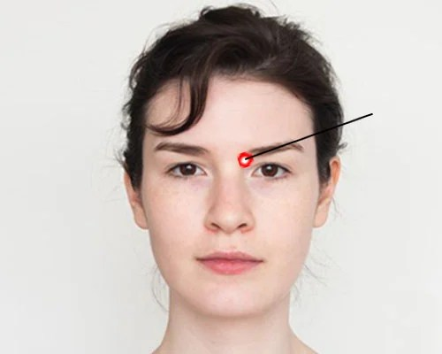 Pressure Points For Headache Relief: Bright Lights