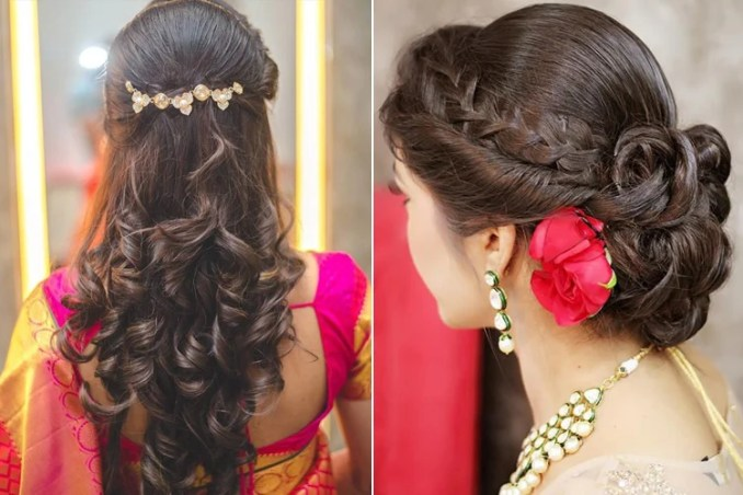 Image Result For Simple Indian Hairstyles For Long Hair