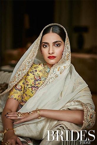 Sonam Kapoor on Brides Today India