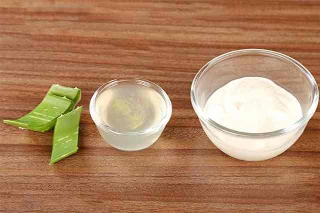 Yogurt And Aloe Vera Mask
