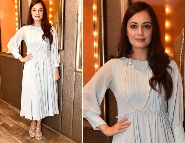 Dia Mirza Dress Style