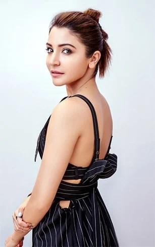 Anushka Sharma Top Knot