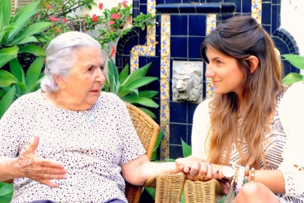 About Cool People and a Big Heart – My grandma