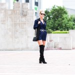 Pairing Navy With Black