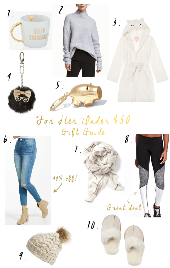 Holiday Gifts Under $50!