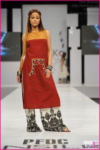 Laila B Sunsilk Fashion Week 2014-07 2014 Fashion Dresses In Pakistan 2014 Fashion Dresses In Pakistan PFDC Maria B Sunsilk Fashion Week Dresses 2014 07