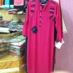 pink latest kurta  shalwar design pakistan Pink Latest Kurta  Shalwar Design Pakistan Photo0801