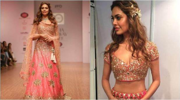Esha Gupta shimmers in pink as she walks the Ramp  Esha Gupta shimmers in pink as she walks the Ramp Esha Gupta shimmers in pink as she walks the Ramp Esha Gupta shimmers in pink as she walks the ramp