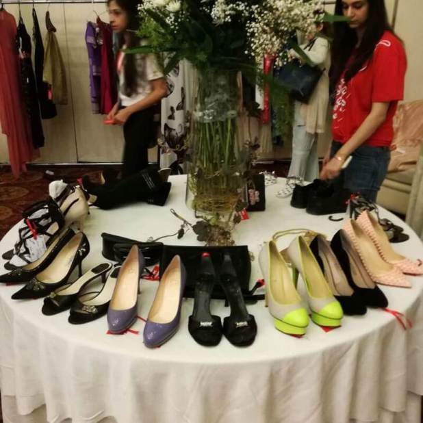 shoes-werent-as-big-a-hit-because-of-size-issues lahore biggest charity sale and this is what went down Lahore biggest charity sale and this is what went Down shoes werent as big a hit because of size issues