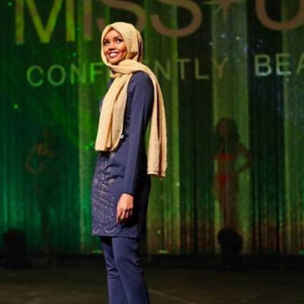 she-did-not-make-it-to-the-final young halima aden first usa hijab wearing to miss minnesota Young Halima Aden First Usa Hijab Wearing to Miss Minnesota she did not make it to the final