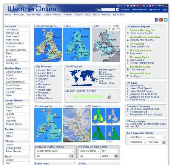 World Weather Online weather underground website for ten information Weather Underground Website Free Information World Weather Online