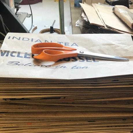 Elvis _ Kresse raw tea sacks to be made into packaging