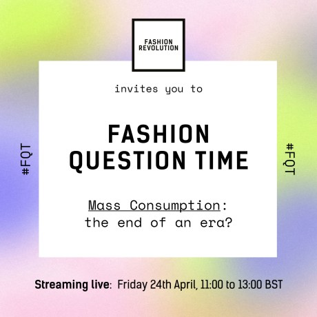 Fashion Question Time 2020