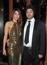 Vikram Chatwal with ex wife Priya Sachdev