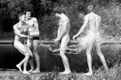 British Rowers in Naked Glory