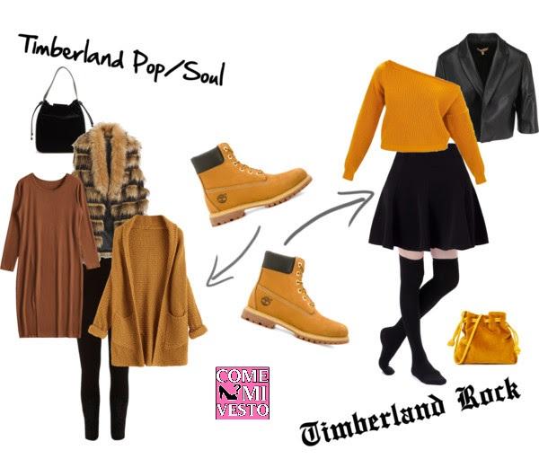 outfit alternativo timberland