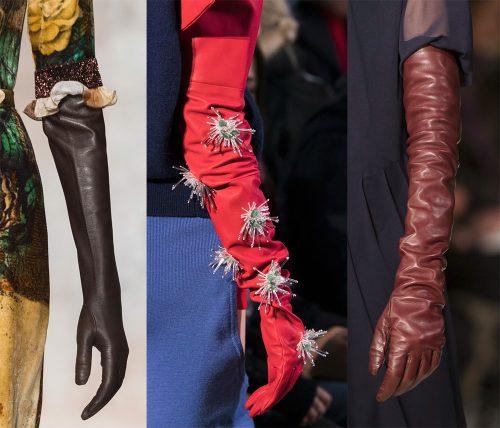 guanti da donna 2018