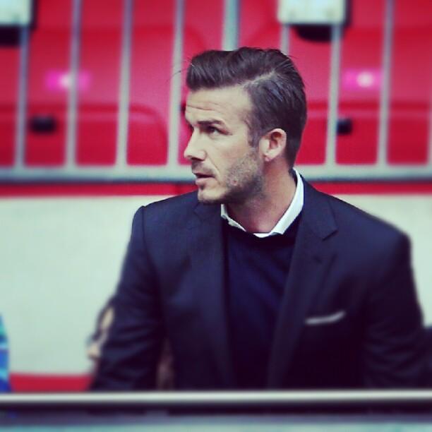 David Beckham Olympic Fashion