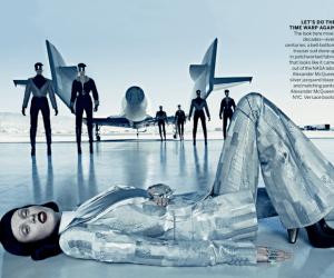 Vogue September Issue Virgin Galactic