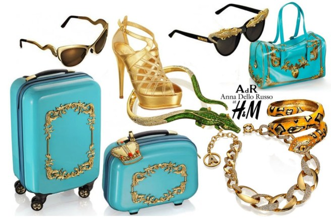 Anna Dello Russo for H&M Travel Accessories