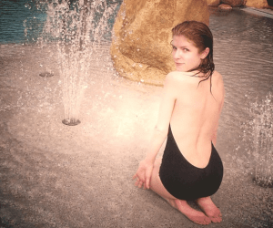 Anna Kendrick in Mexico on Vacation