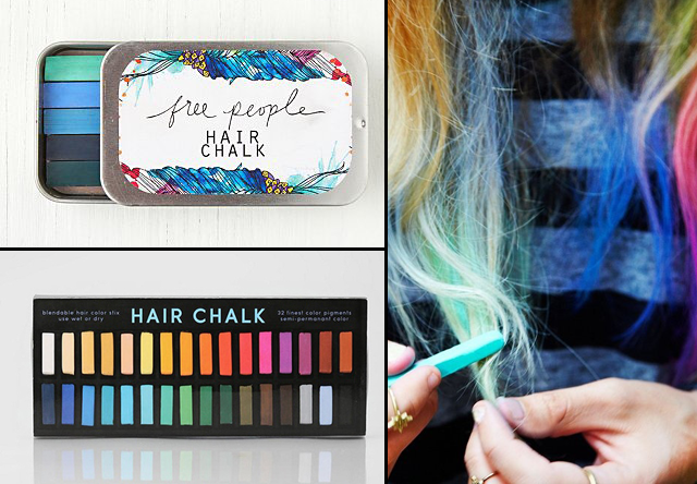 Hair Chalking Sets by Free People and Urban Outfitters