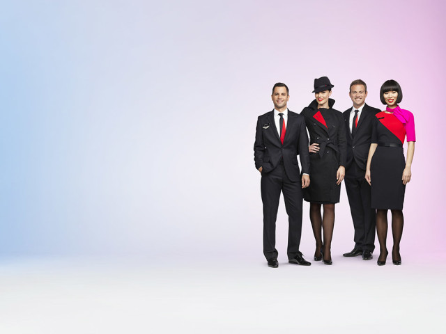 Qantas Crew Uniforms Unveiled