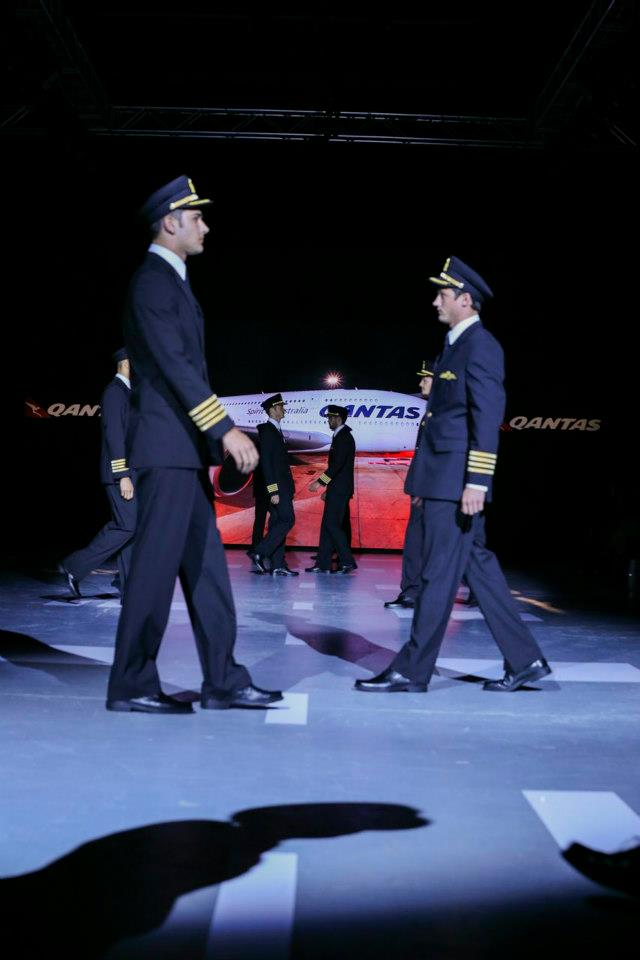 New Qantas Pilot Uniforms