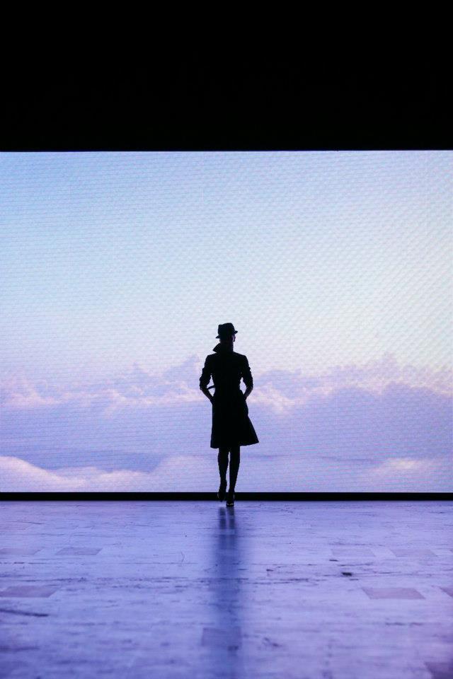 New Qantas Uniforms Fashion Show
